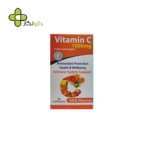 کپسول ویتامین ث ۱۰۰۰ میلی او پی دی فارما