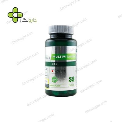 کپسول مولتی ویتامین ۵۰ پلاس