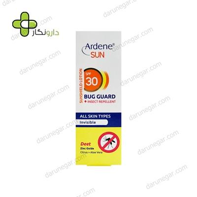 لوسیون ضد آفتاب باگ گارد SPF30