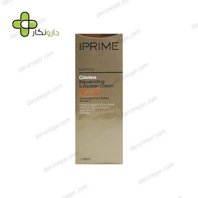 کرم ضد آفتاب جوان کننده پریم SPF50