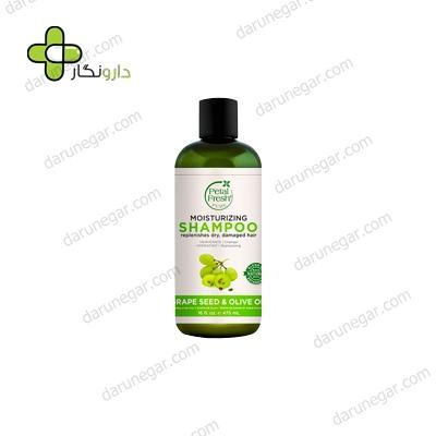 شامپو مناسب برای مو های خشک پتال فرش