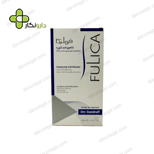 شامپو ضد شوره خشک فولیکا مناسب پوست سر خشک