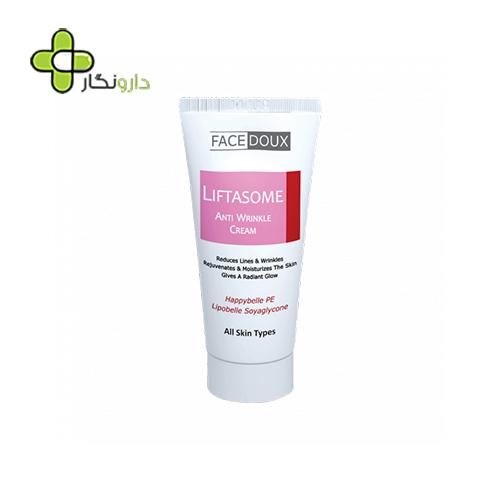 کرم ضد چروک لیفتازوم فیس دوکس مناسب انواع پوست